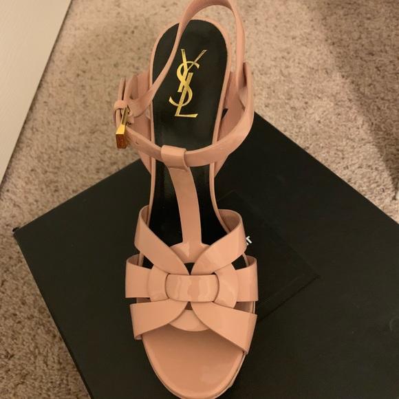 7ea6c3d1d42 Yves Saint Laurent Shoes | Heels | Poshmark